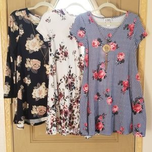 Other - 3 for $15 Girl dresses